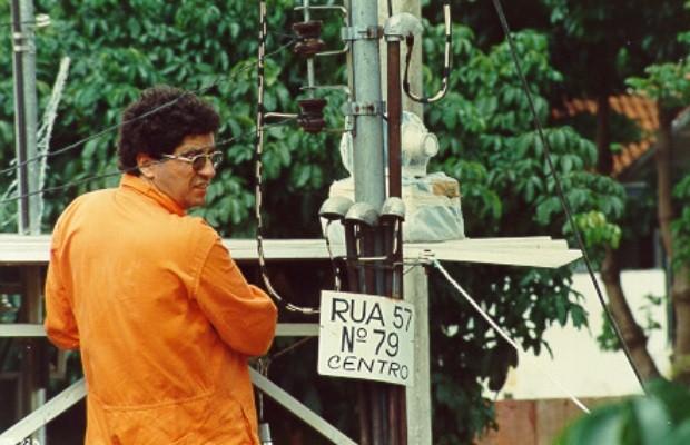 Cesar Luiz Vieira é supervisor de radioproteção do Cnen e trabalhou no acidente do césio-137, em Goiânia, Goiás (Foto: Reprodução)