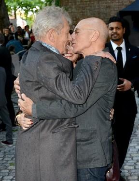 Patrick Stewart e Ian McKellen (Foto: Getty Images)