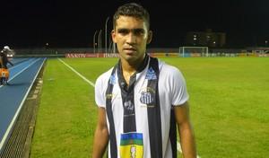 Rafinha; Santos-AP; Futebol; Esporte (Foto: Rafael Moreira/GE-AP)