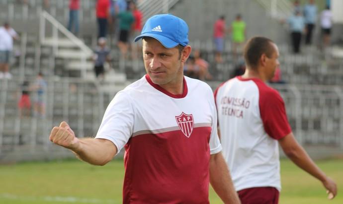 Rogério Henrique, treinador CAP, Patrocinense (Foto: Alair Constantino/Dono do Apito)