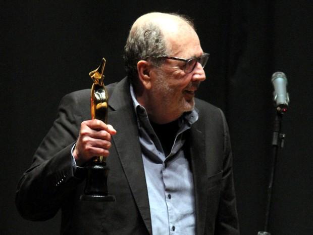 Cacá Diegues, diretor de cinema homenageado no Paulínia Film Festival (Foto: Gustavo Magnusson/G1)
