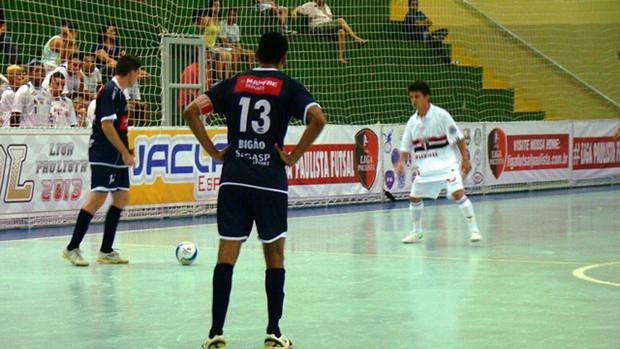 jogo de futsal entre AABB e Suzano (Foto: Divulgação)