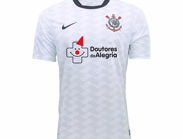 Camisa Corinthians Doutores da Alegria (Foto: Divulgação)