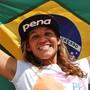 Acompanhe o dia a dia da tricampeã mundial Isabela Sousa (Lima Jr./Mkt Pena)