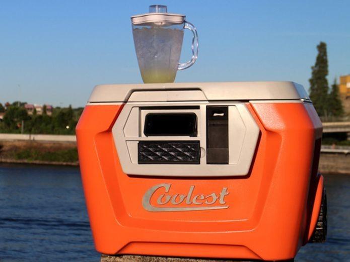 Caixa térmica de americano promete recursos de tecnologia (Foto: Reprodução/Kickstarter)