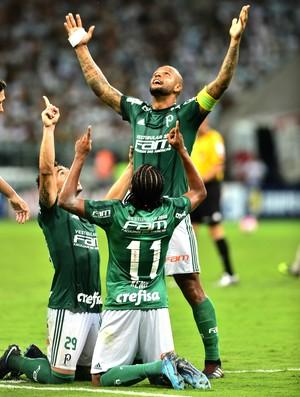 Felipe Melo Keno Willian Palmeiras Santo André
