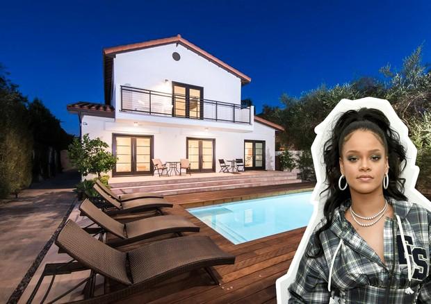 Rihanna: casa à venda em Hollywood (Foto: Divulgação)