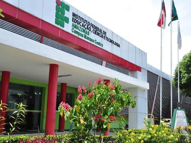 Campus do Instituto Federal de Educação, Ciência e Tecnologia do Amazonas (IFAM) fica em Manaus (Foto: Josemar Antunes/Ifam)