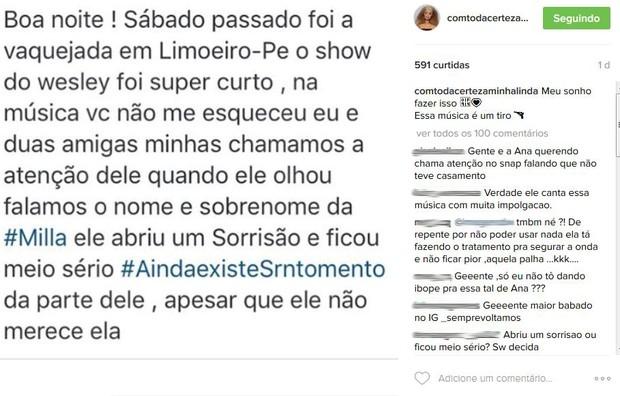 Wesley Safadão (Foto: Instagram / Reprodução)