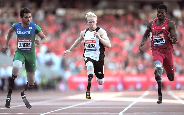 Alan Fonteles prova atletismo Londres (Foto: Getty Images)