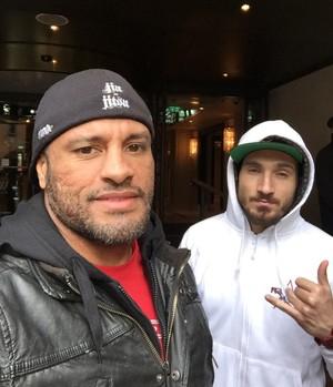 Vitor Nóbrega e João Carvalho MMA (Foto: Reprodução / Facebook)