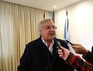 Odone presidente Grêmio (Foto: Tomás Hammes / GLOBOESPORTE.COM)