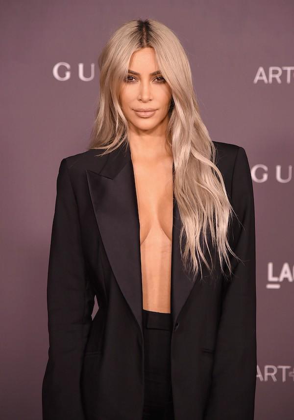 A socialite Kim Kardashian (Foto: Getty Images)