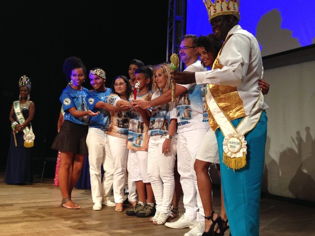 Mãos Entrelaçadas venceu no grupo de Acesso e grupo 1 (Foto: Orion Pires / G1)