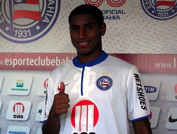 juan angulo, lateral do bahia (Foto: Divulgação/EC Bahia)