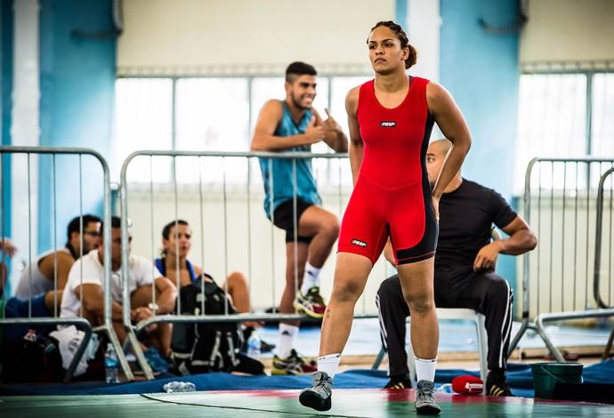 Aline Silva - Luta Olímpica define campeões nacionais (Foto: Divulgação)