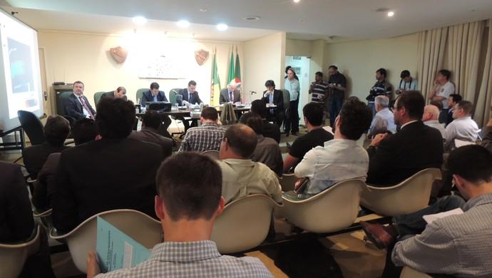Julgamento Márcio Chagas (Foto: Paula Menezes/GloboEsporte.com)