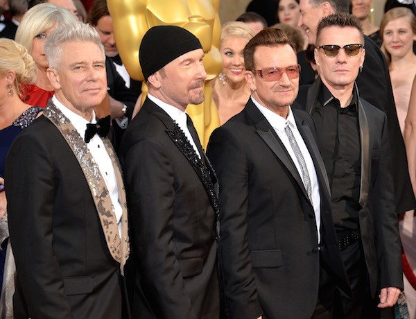 Os músicos do U2 (Foto: Getty Images)
