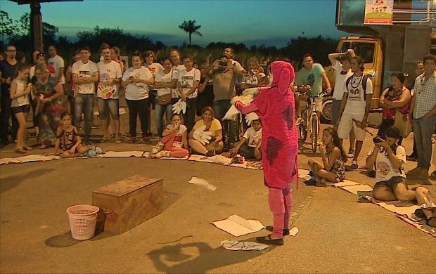 Evento comemorou 26 anos do Estatuto da Criança e do Adolescente, em Porto Velho (Foto: Bom Dia Amazônia)