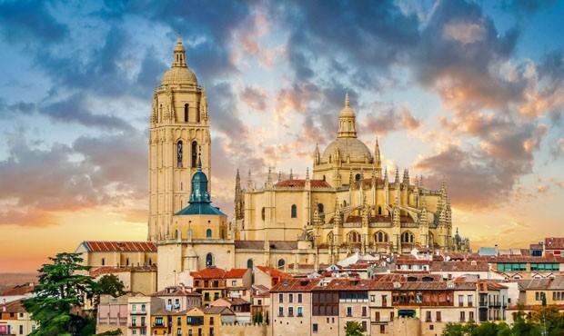 Catedral de Santa Maria de Segovia in the historic city of Segovia, Castilla y Leon, Spain (Foto: Getty Images/iStockphoto)