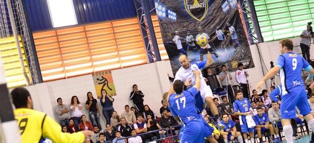 Zepam Taubaté Pinheiros handebol (Foto: O fotografeiro/ MVP Sports)