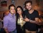 Thammy e Gretchen conhecem hamburgueria de Bruno Gagliasso