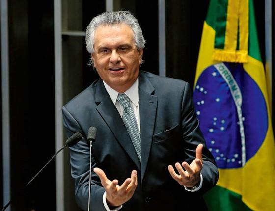 O senador Ronaldo Caiado (DEM-GO) (Foto:  Pedro Ladeira/Folhapress)