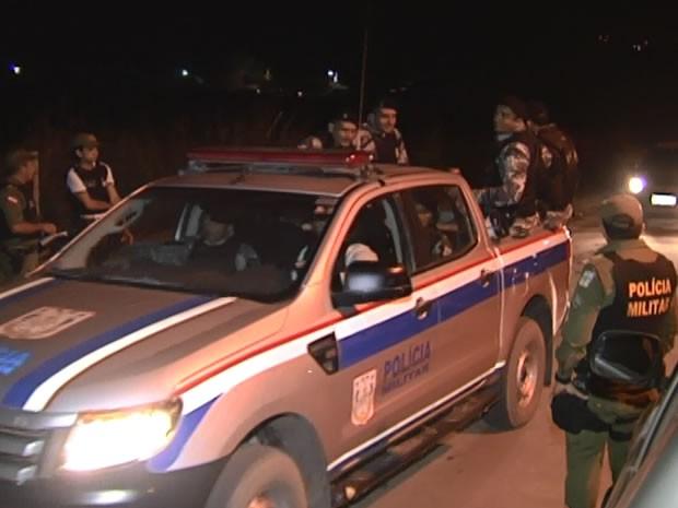 GTO e Moto Patrulhamento foram chamados para ajudar nas buscas (Foto: Reprodução/TV Tapajós)