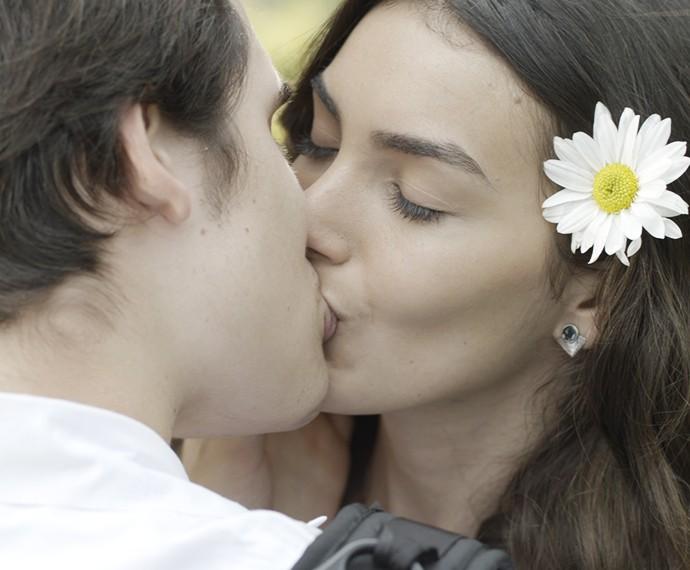 Awnnnn! Ludrigo é muito amor (Foto: TV Globo)