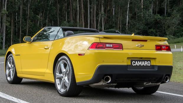 FOTOS: Chevrolet Camaro Conversível