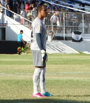 Goleiro Gleibson, Serra Talhada (Foto: André Ráguine / GloboEsporte.com)
