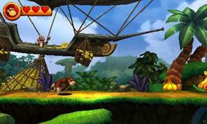 Imagens em 3D de 'Donkey Kong' do 3DS não  (Foto: Divulgação/Nintendo)