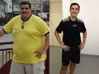 Após não conseguir amarrar cadarço, homem emagrece 76 kg com dieta