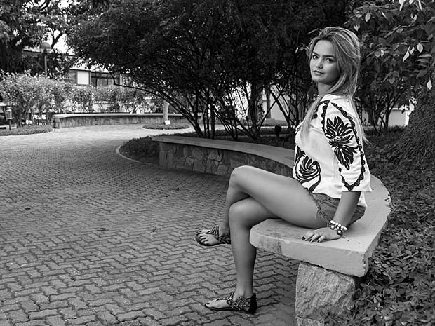Suzanna Freitas também pensa em atuar (Foto: Inácio Moraes / Gshow)