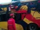 Acidente de ônibus deixa 11 mortos e 14 feridos no leste da Venezuela