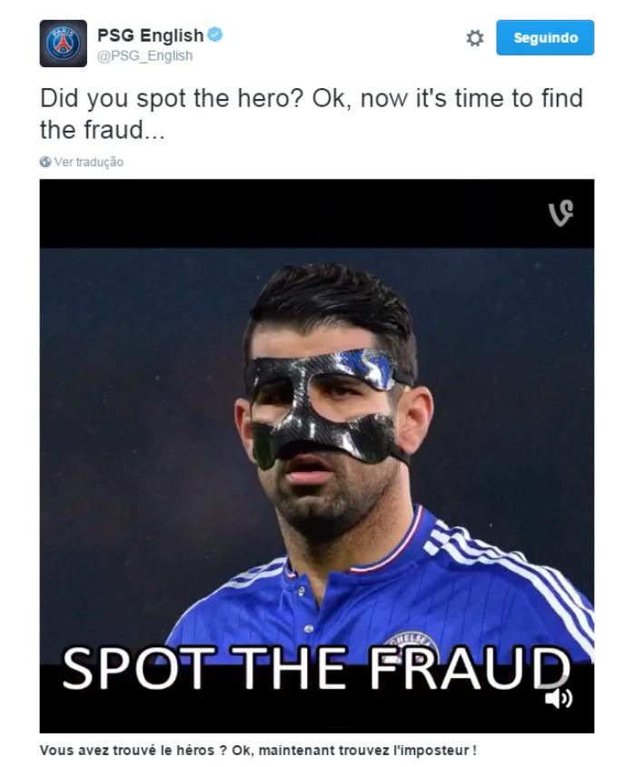 Diego Costa Chelsea fraude Twitter PSG