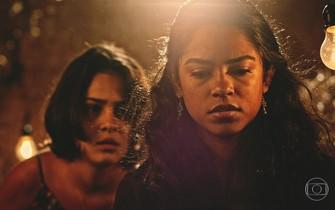 Luzia decide revelar a verdade sobre o pai de Olívia