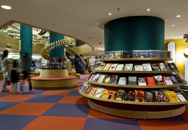 Livraria Cultura em Curitiba ; mercado editorial ;  (Foto: Fernando Brandão)