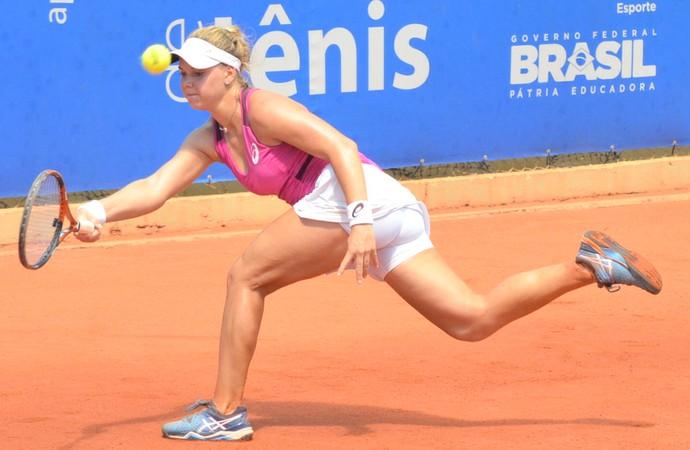 Laura Pigossi tenista em São José do Rio Preto (Foto: Eric Visintainer/Divulgação)