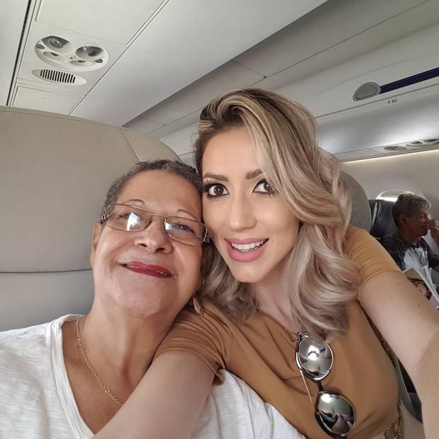 Geralda e Fernanda (Foto: Reprodução/Instagram)