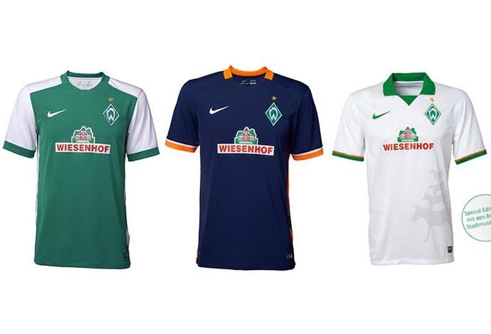 Camisas alemão - werder bremen