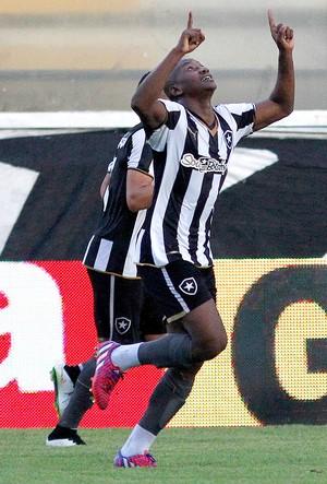 Sassa Comemoração Botafogo x Cabofriense (Foto: Vitor Silva / SSPress)
