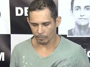 Dennes Rafael Gomes, 30, confessou os 16 estupros, segundo a polícia (Foto: Reprodução/TV Anhanguera)