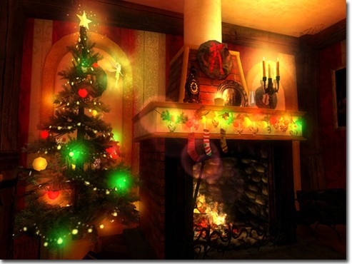 screenshot de Protetor de tela: Christmas Magic 3D Screensaver