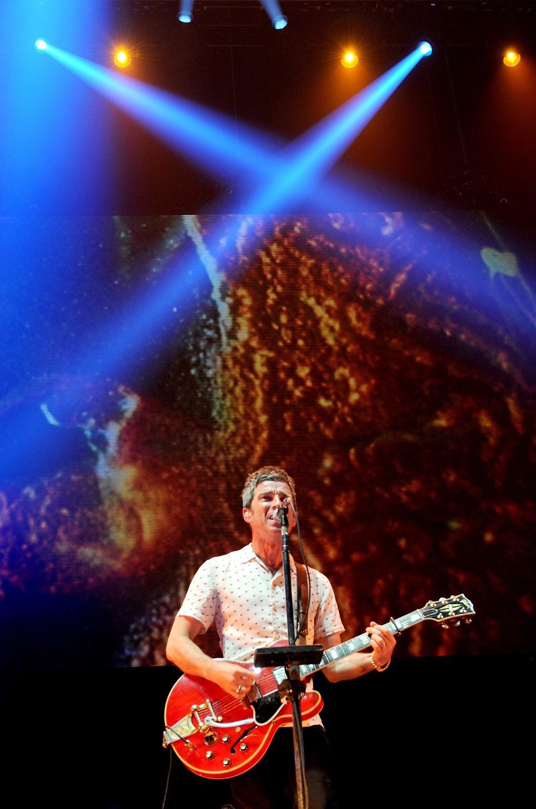 Noel em show na cidade de Manchester (Foto: getty)