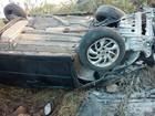 Contador morre em capotamento de carro na região Oeste potiguar