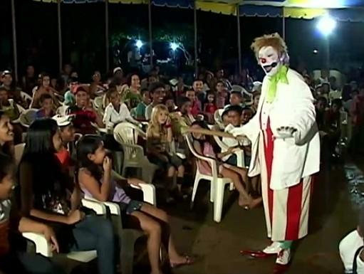 Palhaço Xuxu é um personagem que o ator faz a mais de 30 anos (Foto: Amazônia TV)
