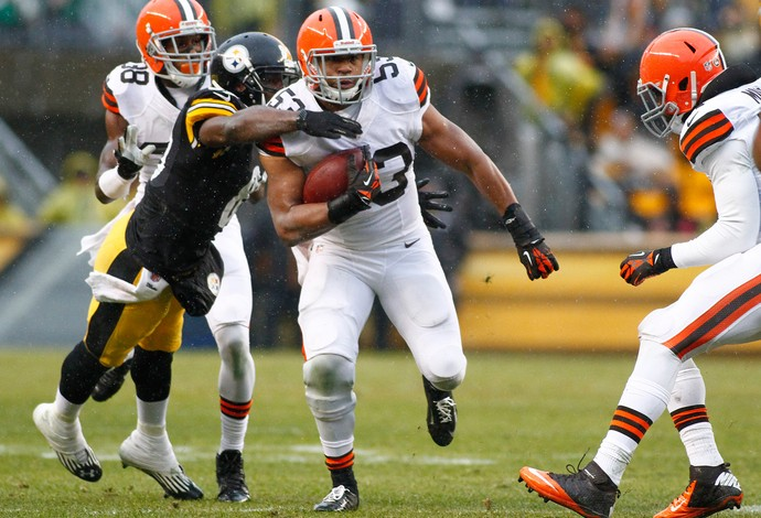 Futebol Americano - Cleveland Browns x Pittsburgh Steelers - Craig Robertson (Foto: Getty Images)