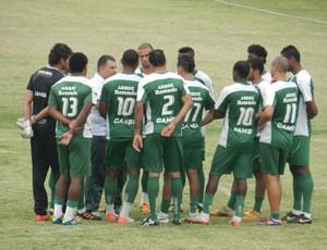 Uberlândia Esporte treino (Foto: Felipe Santos/GLOBOESPORTE.COM)