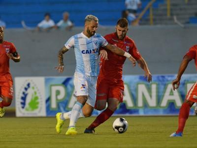Paulo Rangel Londrina Rio Branco-PR (Foto: Gustavo Oliveira/ Londrina Esporte Clube)